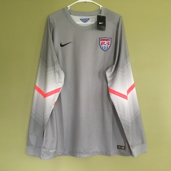 bab011ff5 Nike Shirts | Usa Issued Goalkeeper Jersey Gray Size Xxl | Poshmark
